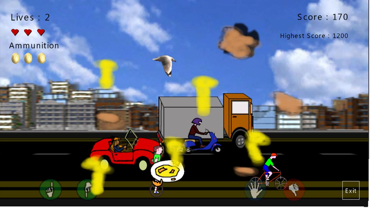 DirtyBirdy - 2D Bird Game - screenshot