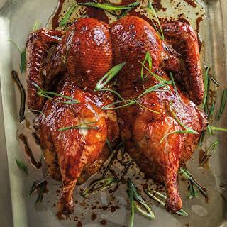 Pomegranate-Glazed Duck.