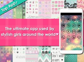 Screenshot of icon wallpaper-CocoPPa