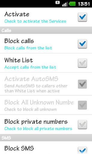 SMS Easy Blocker