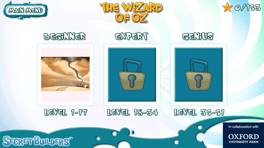 Hidden Difference Game Wiz Oz- screenshot