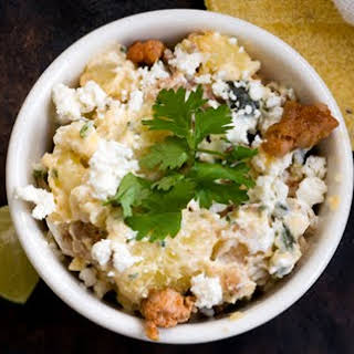 Poblano Chorizo Potato Salad.