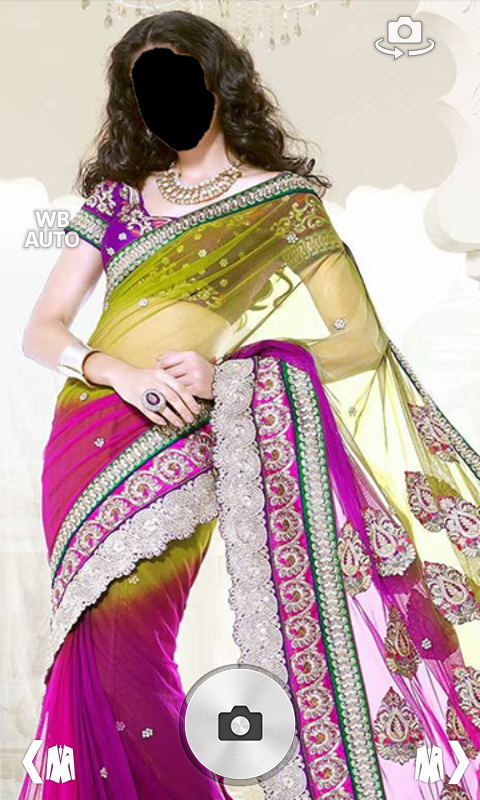Sarees Photo Montage - screenshot