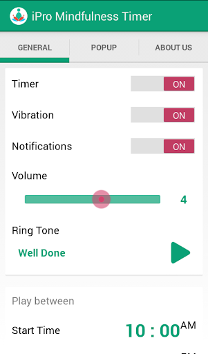 iPro Mindfulness Timer