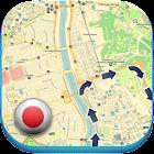 日本离线地图指南天气新闻 icon