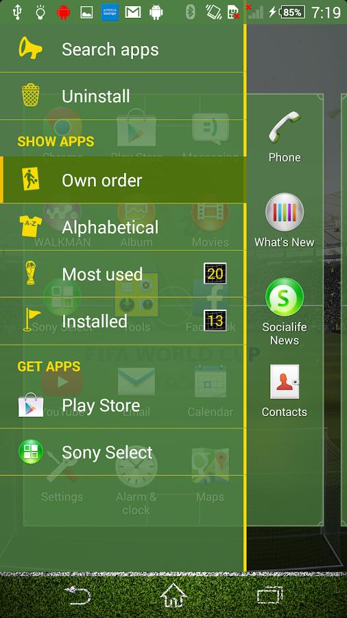 Xperia™FIFA - screenshot