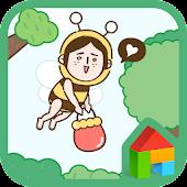 hello honey bee dodol theme