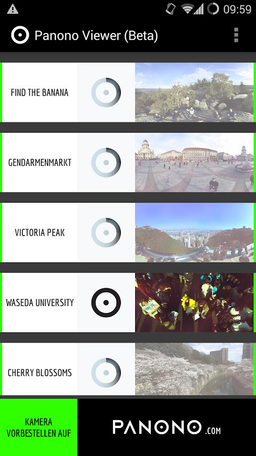 Panono - screenshot