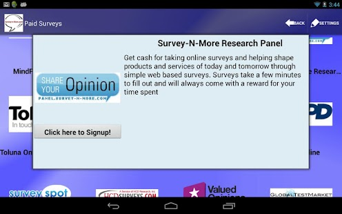 Survey-n-More - Paid Surveys- screenshot thumbnail