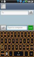 Screenshot of Glow Legacy Keyboard Evil Pro