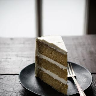 Pumpkin Spiced Buttermilk Layer Cake with Maple Buttercream