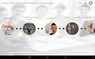 Screenshot of Learn Android Programming
