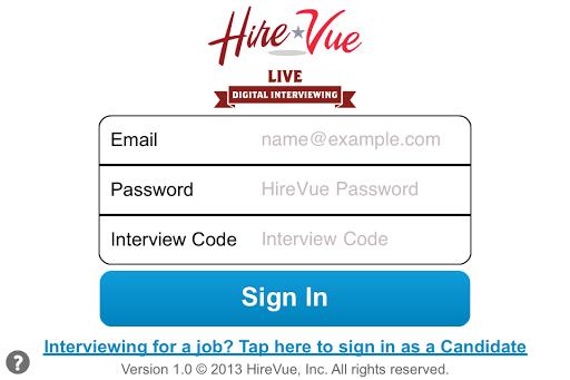 HireVue Live
