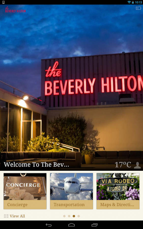 The Beverly Hilton- screenshot
