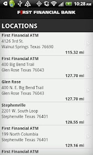 First Financial Mobile Banking - screenshot thumbnail