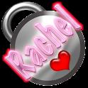 Rachel Name Tag logo