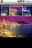 Screenshot of Beautiful Beaches Solitaire