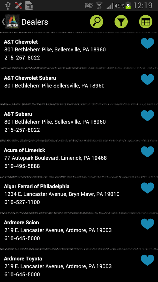 Philly Auto Show Official App - screenshot