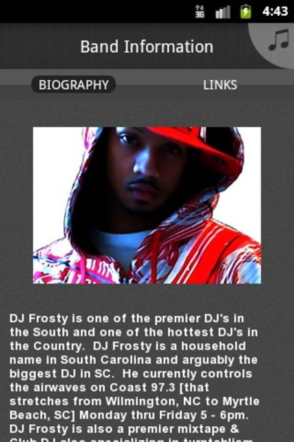 DJ FROSTY - screenshot