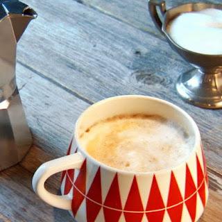 Handmade Cappuccino.