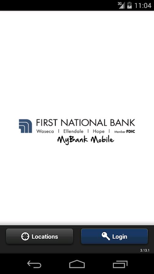 FNB Waseca MyBank Mobile - screenshot