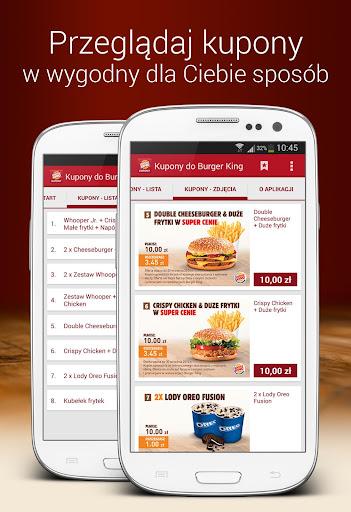 Kupony do Burger King
