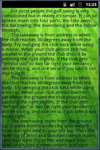 Golf Fundamentals
