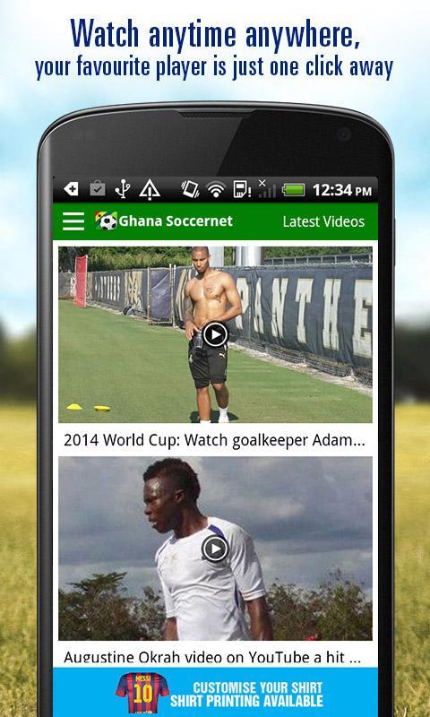 Ghana Soccer News - screenshot
