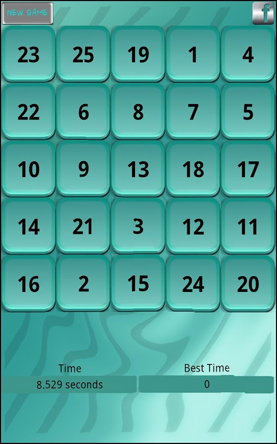 Touch Numbers - screenshot