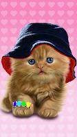 Screenshot of Baby Cat, Cute Live Wallpaper