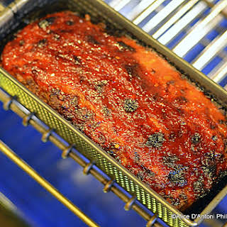 Chorizo Beef Meatloaf With Spicy Sweet Chili Sauce.