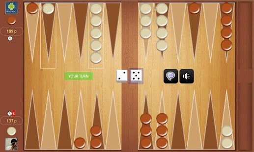Backgammon Online Tournament ! - screenshot thumbnail