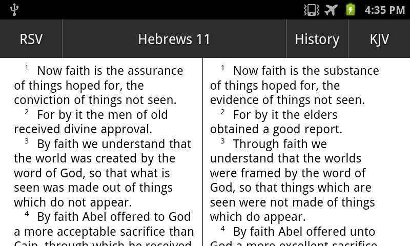 RSV Translation Bible Touch- screenshot
