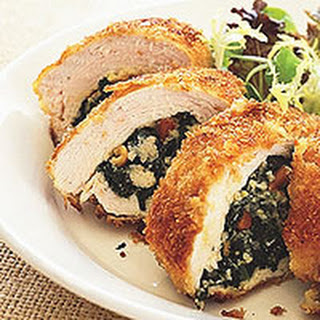 Hummus-Stuffed Chicken Breasts.