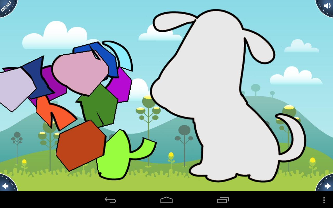Games for Kids: Shape Puzzle - screenshot