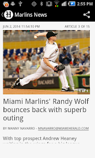 Marlins Baseball- screenshot thumbnail