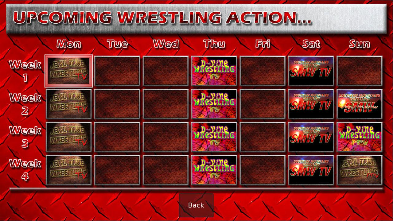 Wrestling Booker Game - screenshot