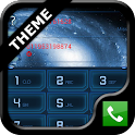 exDialer Blue Galaxy Theme icon