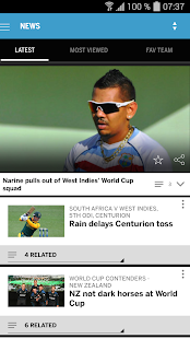 The ESPNcricinfo Cricket App- screenshot thumbnail