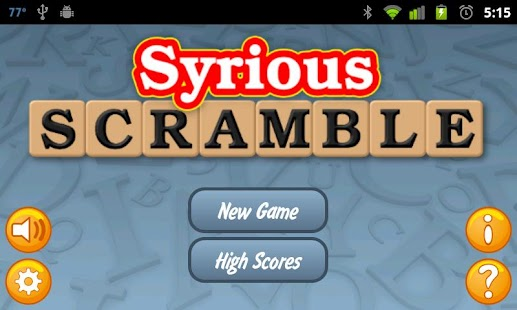 Syrious Scramble® Free- screenshot thumbnail