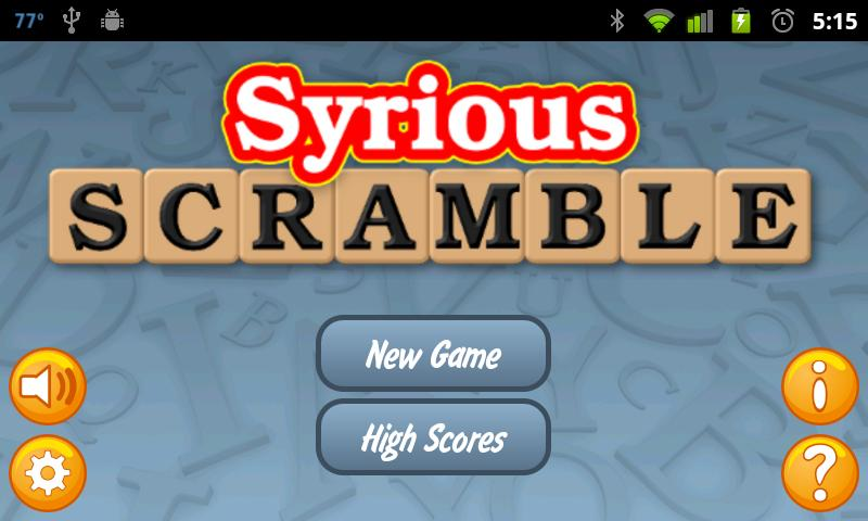 Syrious Scramble® Free- screenshot