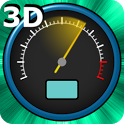 3D Speedometer Live Wallpaper icon