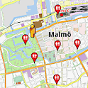Malmö Amenities Map (free)