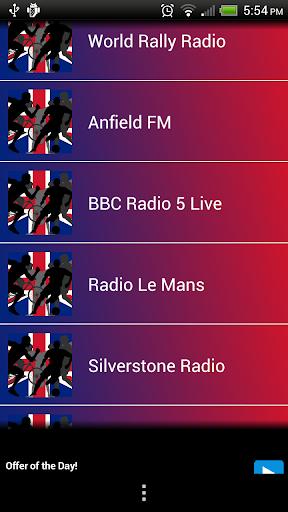 British UK Sports Radio