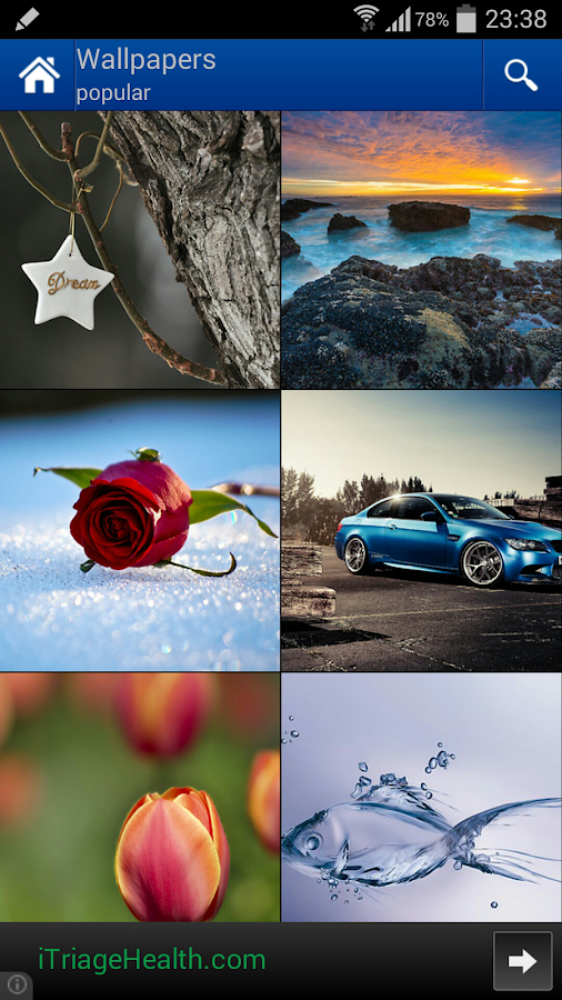 Mobiles24 Ringtones Wallpapers - screenshot