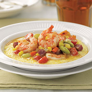 Shrimp and Grits with Succotash Recipe
