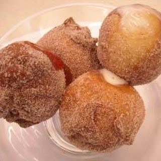 Jam And Custard Doughnuts.