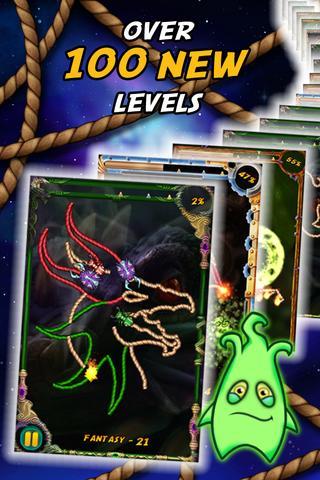 Burn the Rope Worlds- screenshot