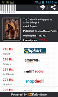 LowPrice lowest book price - screenshot thumbnail