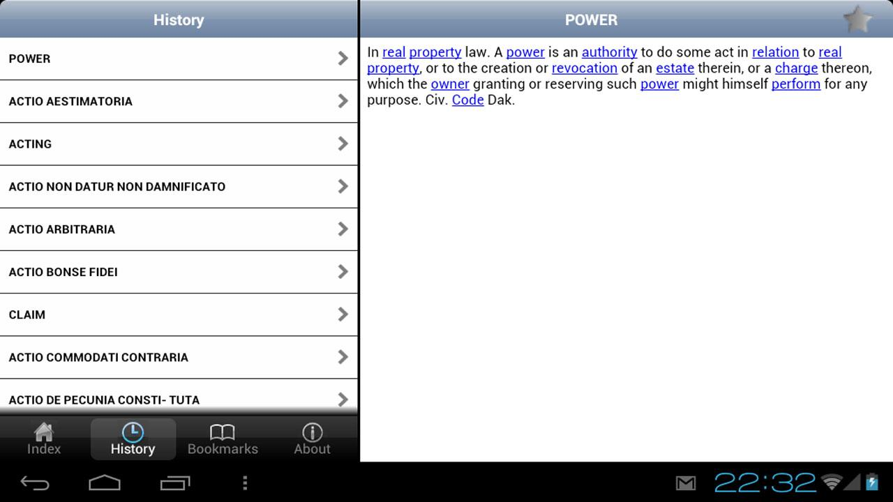 Law Dictionary- screenshot